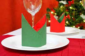 Servietten Falten Tischdeko Esszimmer Dekoration Wohnzimmer Weihnachten Modernes Haus Modernes Haus