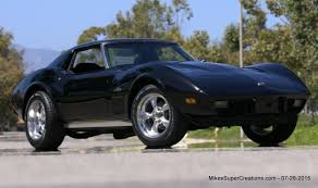 supercharged stingray corvette 1975 corvette stingray coupe 383 fuel injected supercharged
