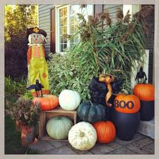 exterior cool halloween decorating ideas for outdoor space and