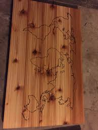 World Map On Wood Planks by World Map Album On Imgur