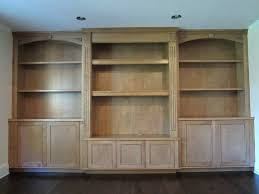 Built In Tv Bookcase Bookcase Craftsman Style Built In Bookcase Birch Built In Tv
