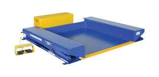 vestil ground scissor lift table