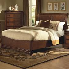 Sleigh Platform Bed Frame by Bedroom King Size Bed Frames With Headboard Ethan Allen Sleigh
