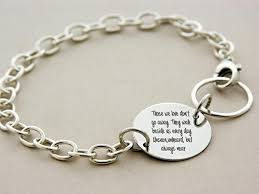 custom silver jewelry child loss bracelet custom engraved i carried you