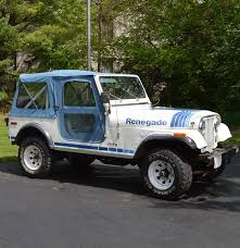 jeep renegade blue 1979 cj 7 jeep renegade ebth