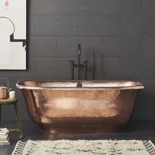santorini freestanding copper bathtub cps942 native trails