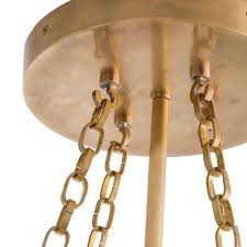 arteriors home saturnus fixed chandelier brass u2013 clayton gray home