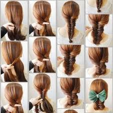 tutorial mengikat rambut kepang 15 tutorial gaya rambut panjang modern