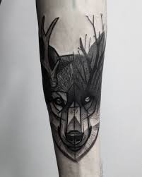 lovely lone wolf tattoos in different styles 2018 wolf tattoos