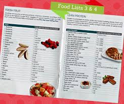 food lists 3 u0026 4 piyo workout nutrition chalenejohnson diet