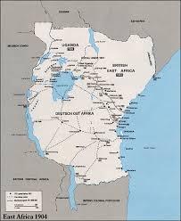 Uganda Africa Map by Kenya Uganda Tanganyika