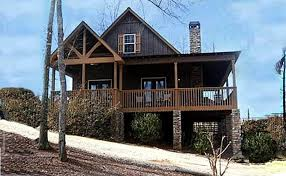 cabin style house plans 2 bedroom cabin plan with covered porch river cabin