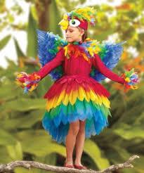 Brazilian Carnival Halloween Costumes Parrot Halloween Costume Rio Children