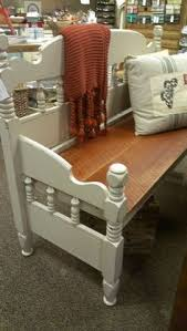 Bench Made From Tailgate Garden Bench Made From An Old Single Bed Head Board The Back Of