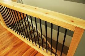 Stair Banisters And Railings Diy Stair Handrail With Industrial Pipes And Wood
