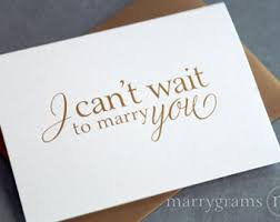 Card From Bride To Groom On Wedding Day Wedding Card To Your Bride Or Groom I Can U0027t Wait To