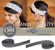 banded headbands sewing pattern banded beauty indygo junction