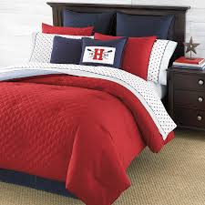 Red White Comforter Sets Red And White Comforter Ideas Homesfeed