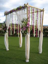 wedding arches chuppa looks easy and is beautiful even if it wasn t bamboo with a