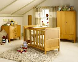 Baby Cribs Decorating Ideas by Attic Baby Room Design Ideas With Wooden Baby Cribs Paired With