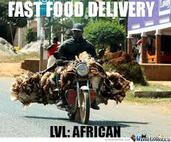 Delivery Meme - fast food delivery by haunted mirror forest meme center