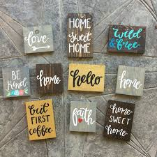 best 25 painted signs ideas on pallet painting