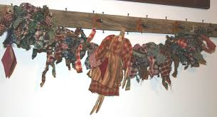 primitive garland decore