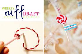 ruff draft candy cane lollipop ornaments anders ruff custom