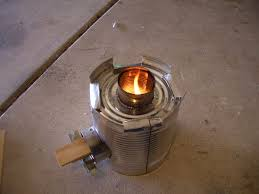 how to make a rocket stove from a 10 can and 4 soup cans 8 steps