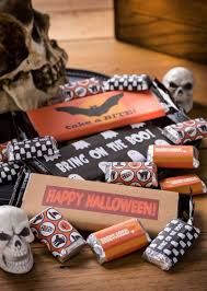 candy bar wrapper free halloween printables diycandy com