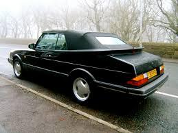 saab convertible black phwoar the saabs