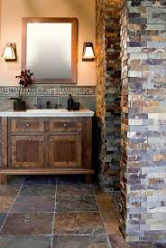 Slate Tile Bathroom Shower 17 Best Ideas About Slate Tile Bathrooms On Pinterest Slate