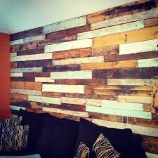 Wood Pallet Furniture Living Room Pallet Wall In Our Living Room Yay Things I U0027ve Done