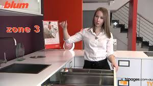 Blum Kitchen Cabinets Blum Kitchen Systems Youtube
