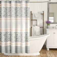 Shower Curtains by August Grove Chambery Cotton Shower Curtain Reviews Wayfair