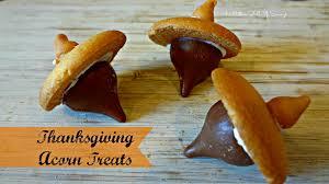 thanksgiving acorn treats this worthey