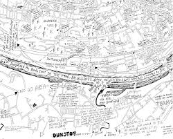 Tyne Metro Map by Maps Created By Homeless People Show Newcastle In A Completely New