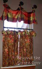 Dining Room Window Valances Dining Room Window Treatments Beyond The Screen Door