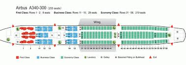 a340 seat map air china airlines aircraft seatmaps airline seating maps and