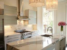 Kitchen Sink Backsplash Interior Wonderful White Marble Kitchen Backsplash Rectangle