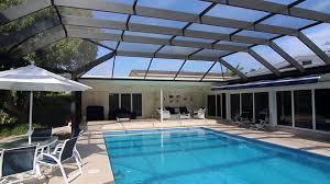 screened pool enclosure in north miami 175 mph wind code