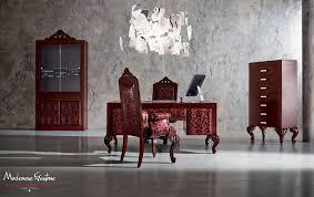 escritorio de madera maciza de diseño nuevo barroco 42301