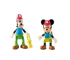 mickey mouse club house mickey mouse and goofy outdoor figures