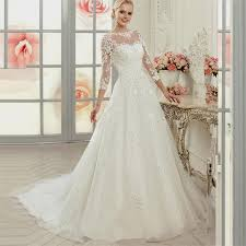 wedding dresses ball gown lace sleeves naf dresses