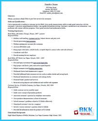 Sample Bank Resume by 83 Bank Teller Resume Examples 100 Banker Resume Personal