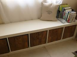 diy ikea bench benches with storage baskets home inspirations design benches