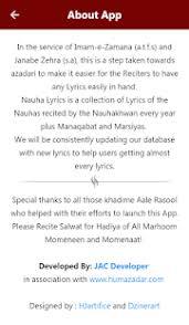 New Lyrics Nauha Lyrics Android Apps On Play