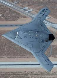 new view of stealthy drone x 47b drones new view and a drone