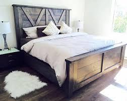 Reclaimed Wood Bed Frame Repurposed Wood Bed Frame Gallery Of Reclaimed Wood Bed Weathered
