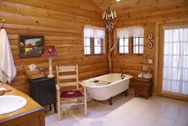 Log Home Interior Design Home Design Not Your Grandpa39s Dark Cabin The Bright And Airy